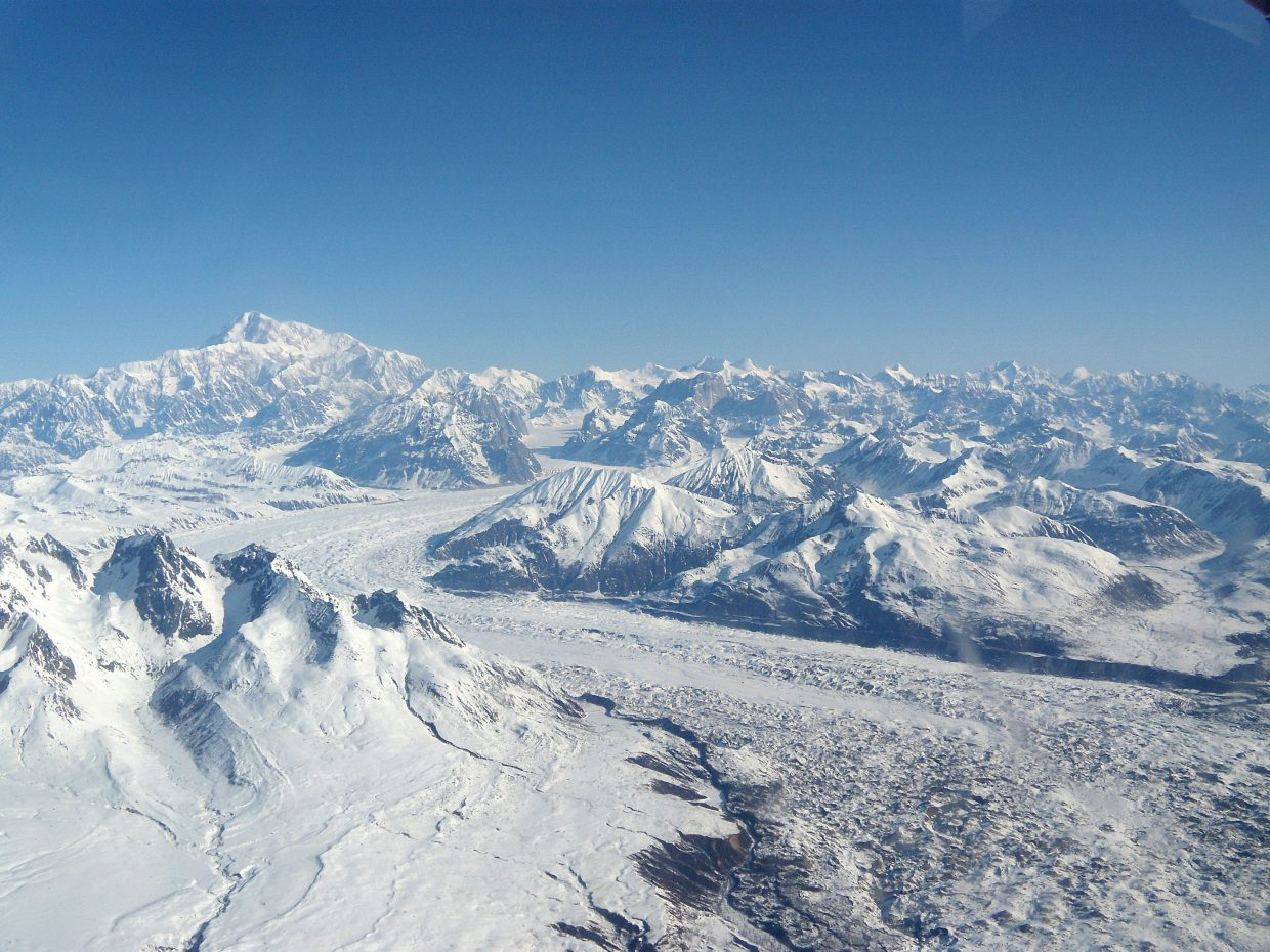 Jeff Whilden, of Craig, took this beautiful photo of  Mt. Denali (formally Mt. McKinley), which is 20,310 feet, in Denali National Park, Alaska. The photo is shoot from the east over The Great Gorge, deeper than the Grand Canyon and Ruth Glacier, with ice 3,800 feet thick, Whilden said.