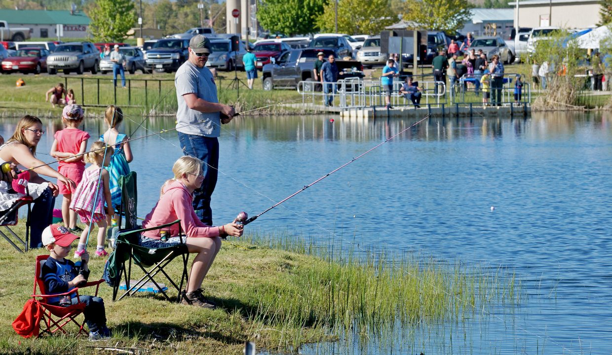 Cops, Vets and Kids at Little Rascals Pond packed the parking lot at the safety center and brought families together for some fun and fishing on a beautiful Wednesday afternoon.