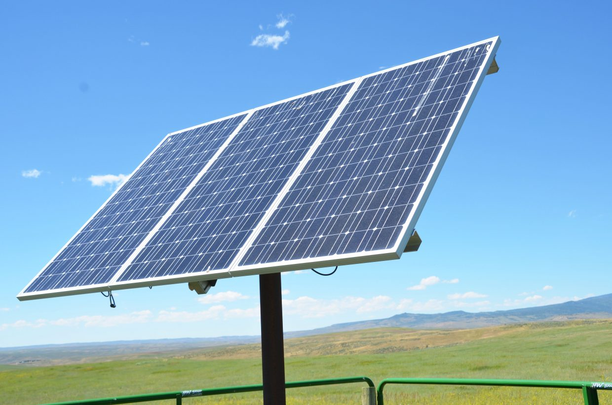 The Energy Blend: Moffat County ranchers tap the sun to deliver ...