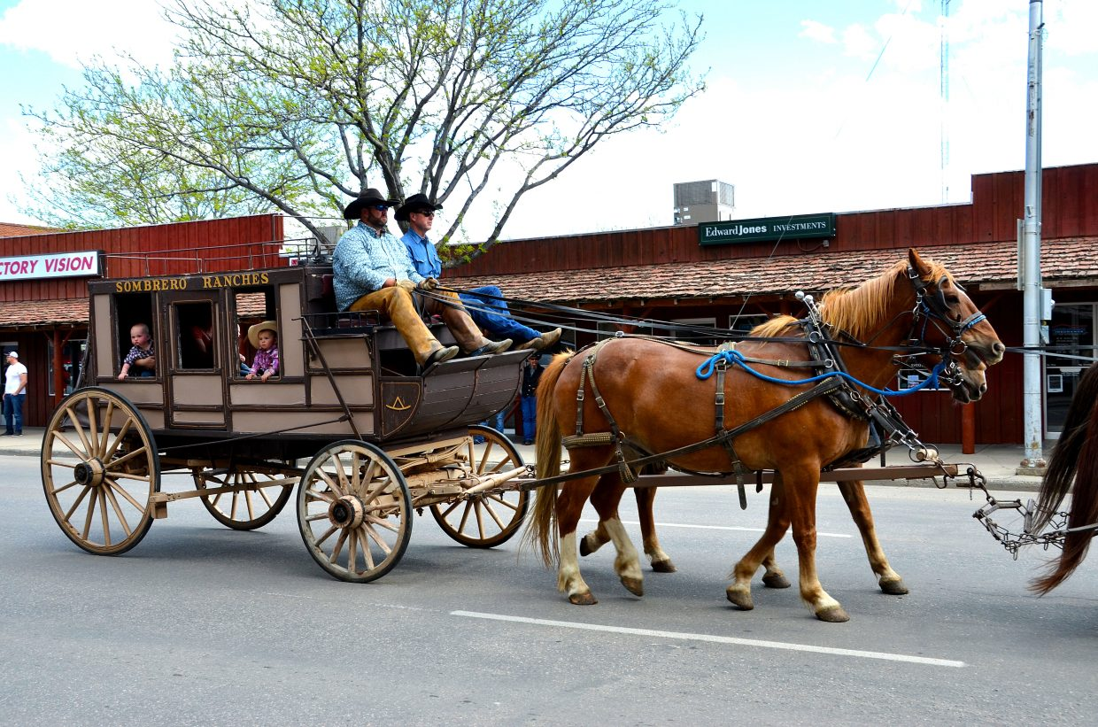 Sombrero Ranches participated in the parade this year.