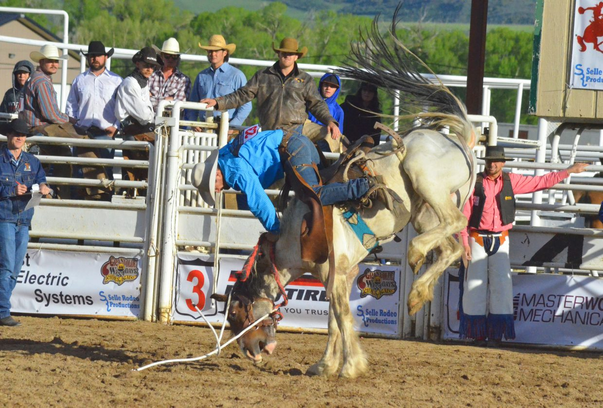 Grand Olde West Rodeo Brings Big Competition To Craig
