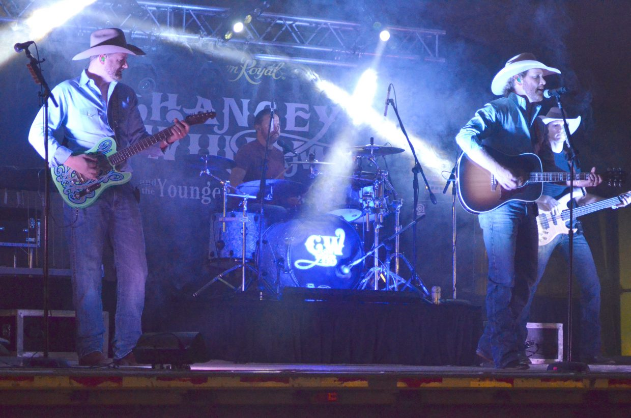Chancey Williams & The Younger Brothers Band provide soulful country tunes Saturday night at Moffat County Fairgrounds as part of Grand Olde West Days. The group is one of many to play at the annual event, including Tris Munsick & The Innocents, The Two Tracks and JShogren Shanghai'd.