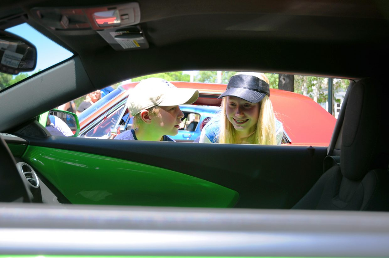 Weekend Car Show In Craig Exhibits Classic Autos