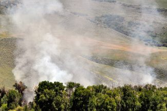 BLM waiting for right conditions before controlled burns in Moffat County