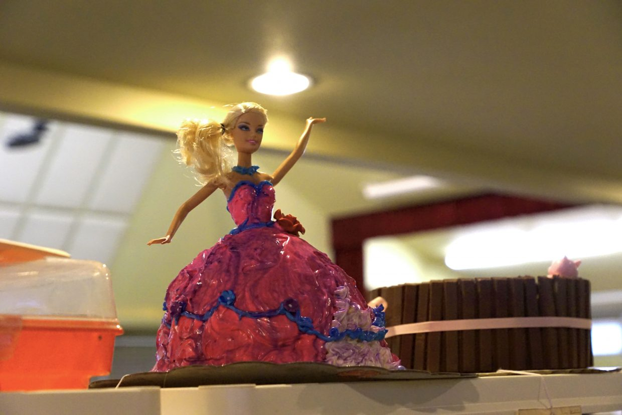 Barbie takes center stage in the cake competition at the 2016 Moffat County Fair.