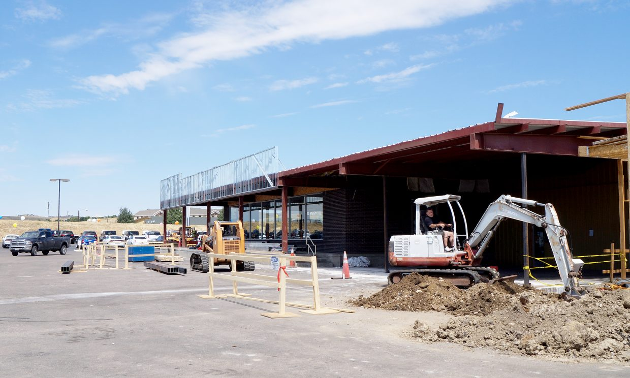 Improvements Underway At Two Craig Businesses