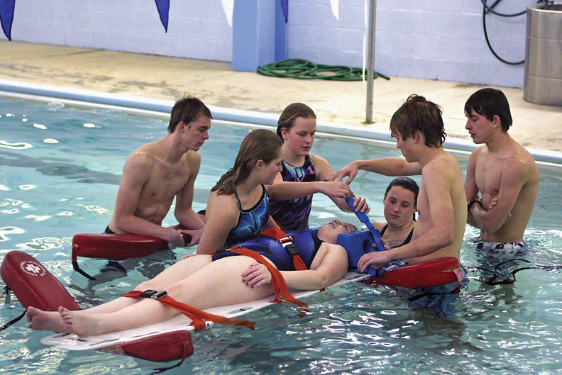 Students learn valuable skills at lifeguard training ...