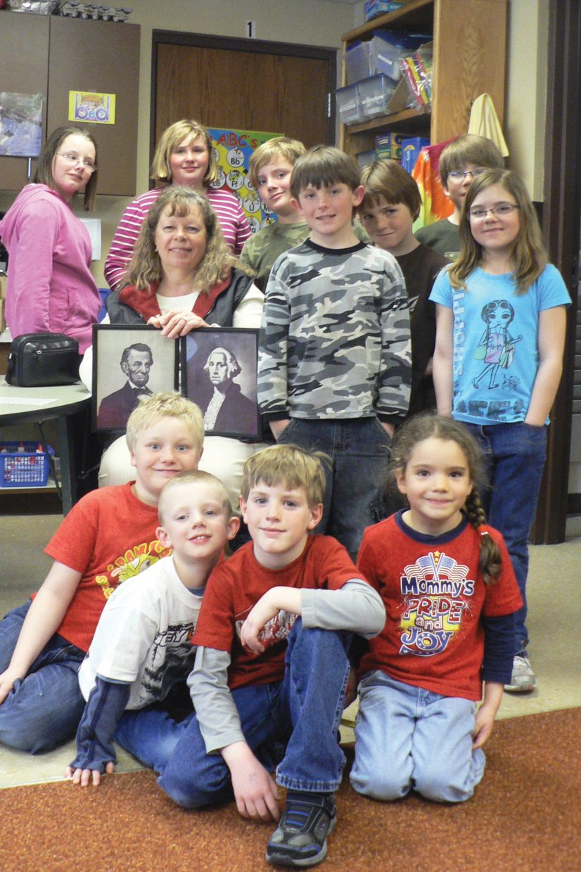 Homemakers Club Visits Maybell School With Historical