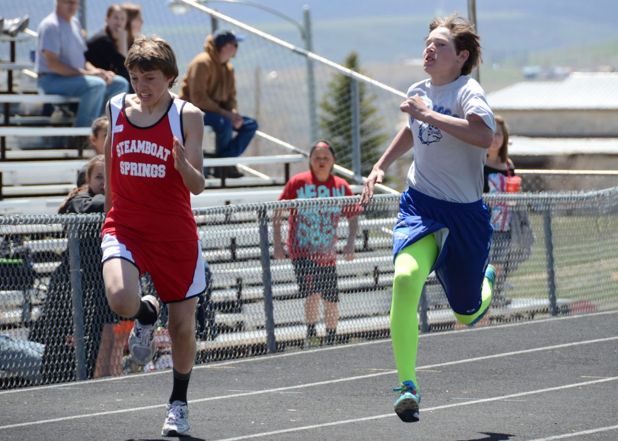 sweet home middle school track meet