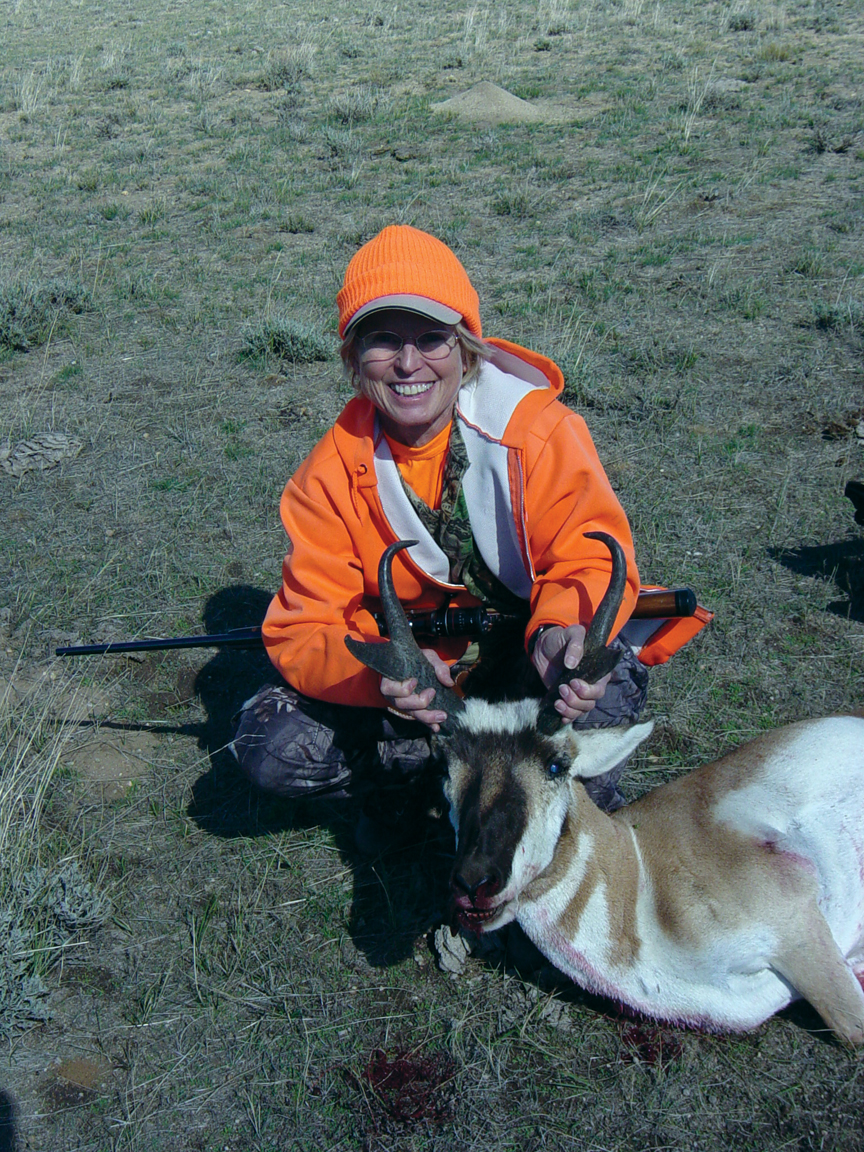 """""""The photo ... in the snow was taken in October 2010 in north Routt County,"""" says long-time hunter Dawn Obrecht. """"We call it 'Dawn's Deer.'"""""""