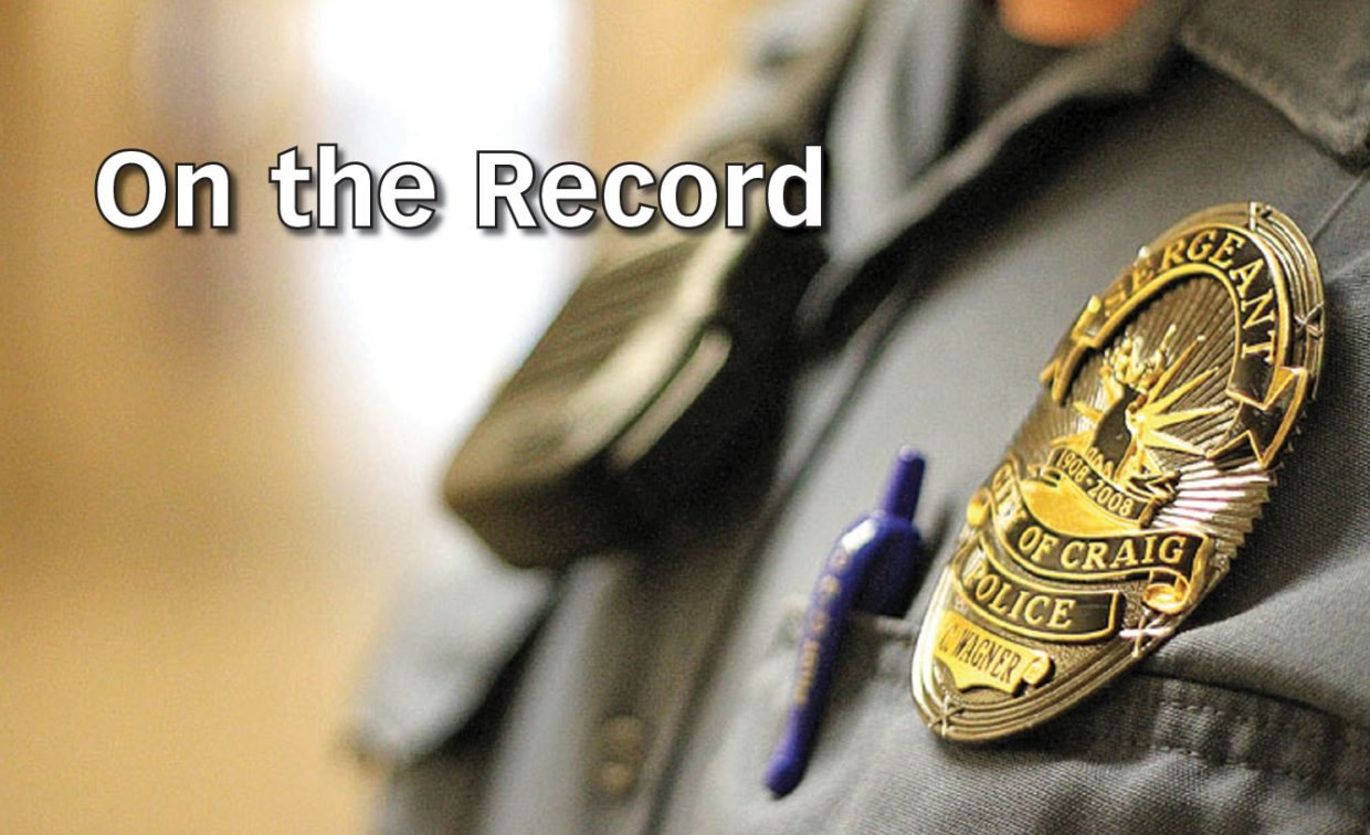 Craig man runs, gets arrested during traffic stop: On the Record — July 12 to 15