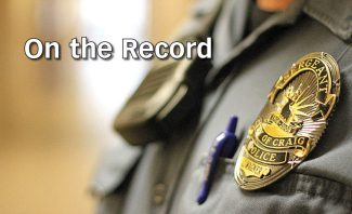 Craig police aid county in vehicle chase: On the Record —  April 10