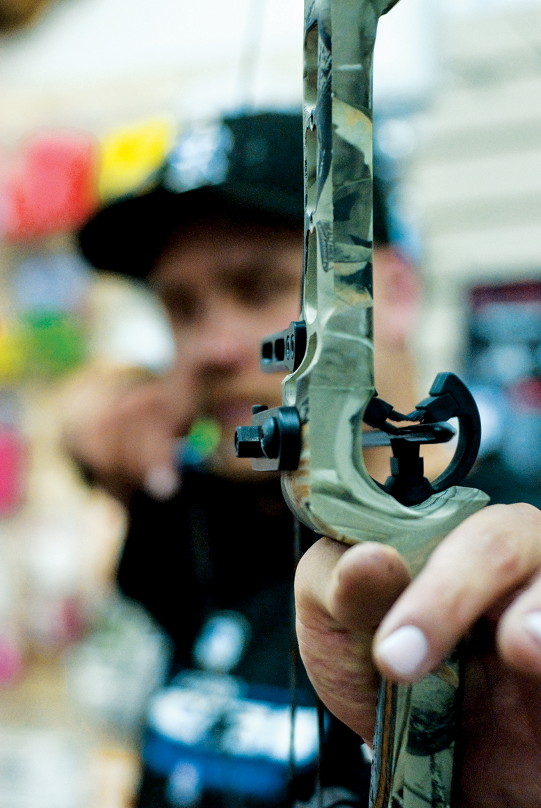 The bow is a popular weapon among Colorado's hunters. Ben Rice, manager at Rocky Mountain Bow Strings in Meeker, said expandable broadheads are the best arrow for mule deer while a cut-on-contact broadhead is better for elk.