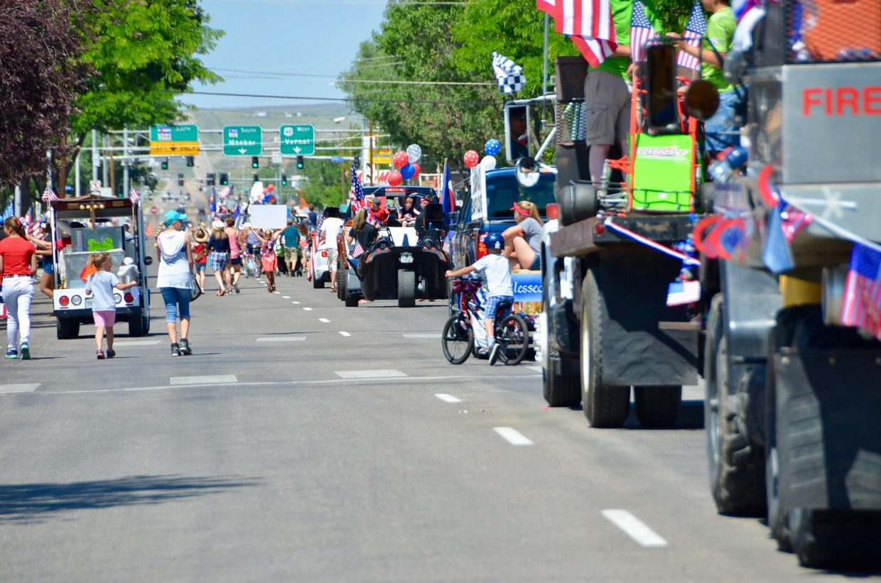 The 2017 Fourth of July parade saw good turnout in both spectators and parade entrants.