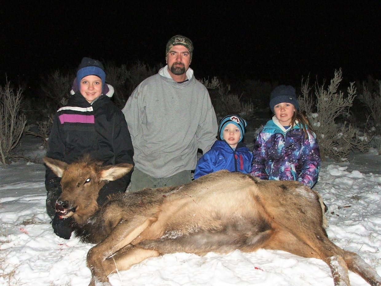 Schlim family hunt, Unit 3, North of Maybell