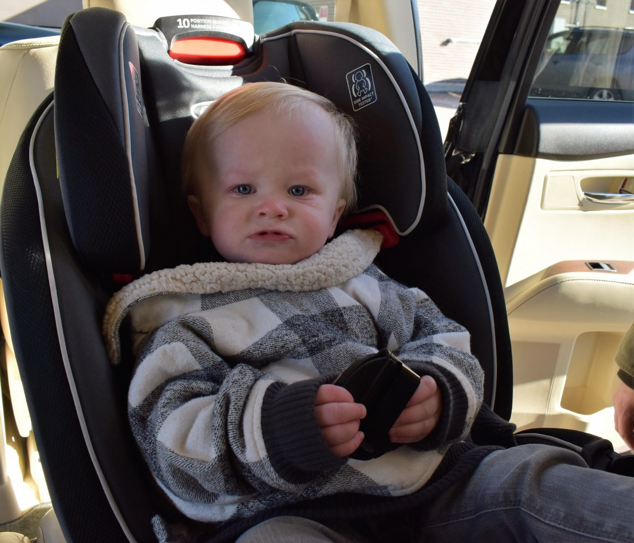 Winter coats hazardous to children riding in car seats ...