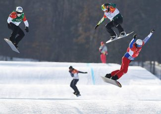 Dierdorff charges to gold-medal final but just short of podium at 2018 Winter Olympics