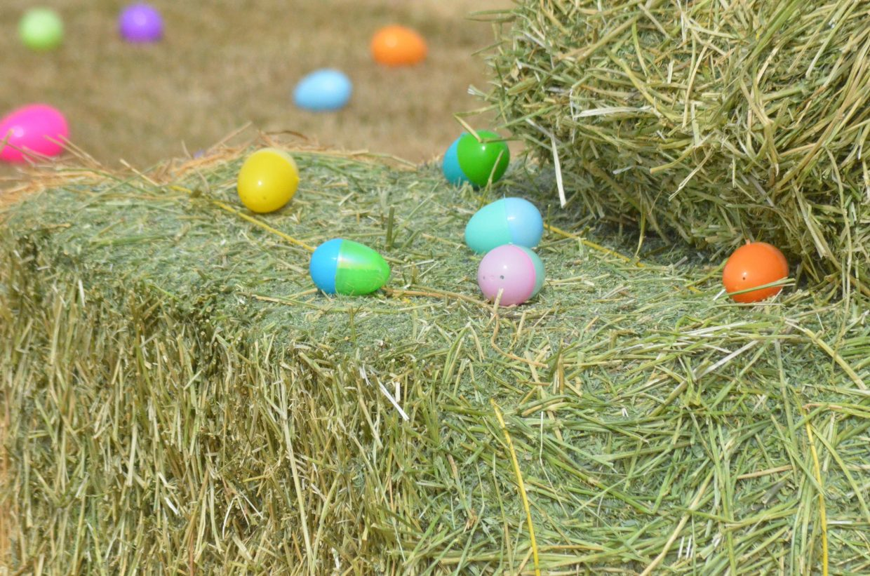 The Saturday Easter egg hunt at New Creation Church featured 25,000 eggs as well as multiple prize giveaways.