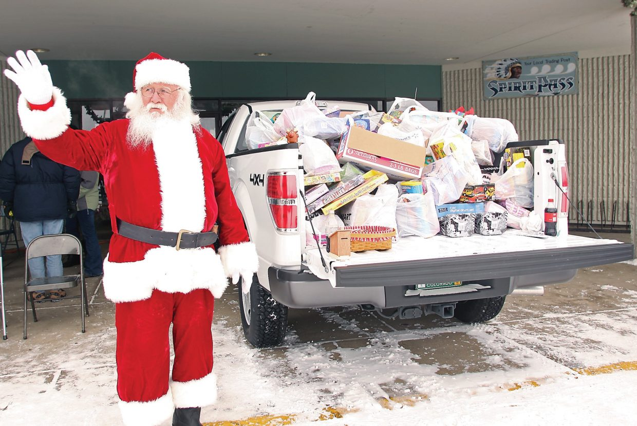 George Kidder was encouraged to become a local stand-in for Santa after he was proclaimed