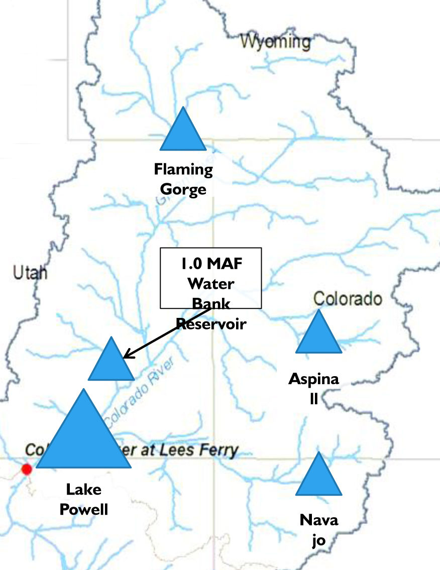Hypothetical Utah reservoir appears on map sparks water debate