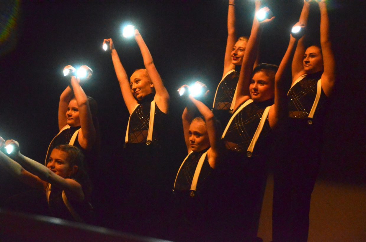 The junior company for Just Dance shines in more ways than one during Saturday's spring recital.