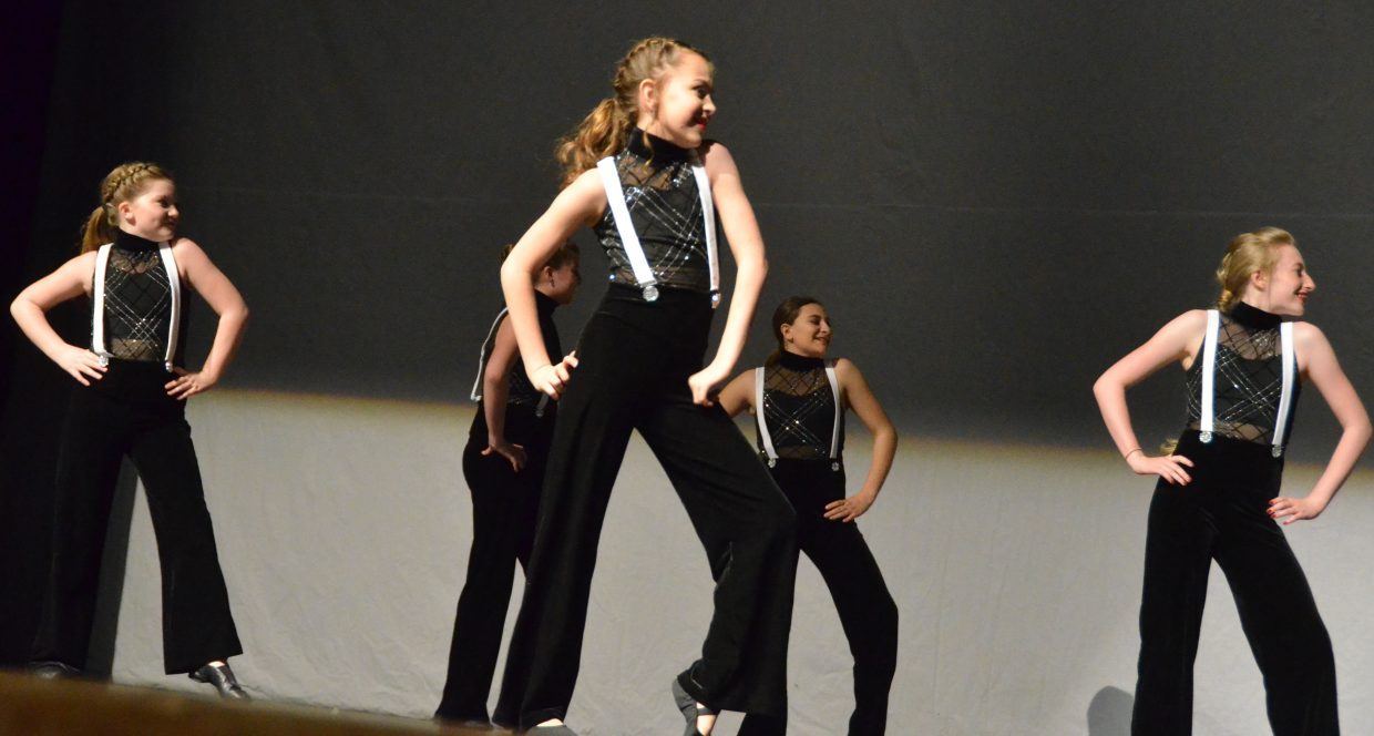 The junior company for Just Dance struts their stuff to