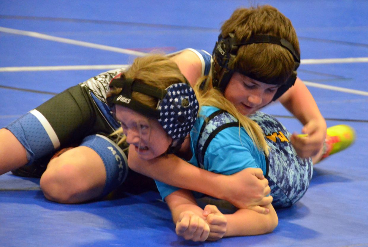 Austin Daniels keeps up the pressure in Saturday's Levi Weber Memorial Tournament.