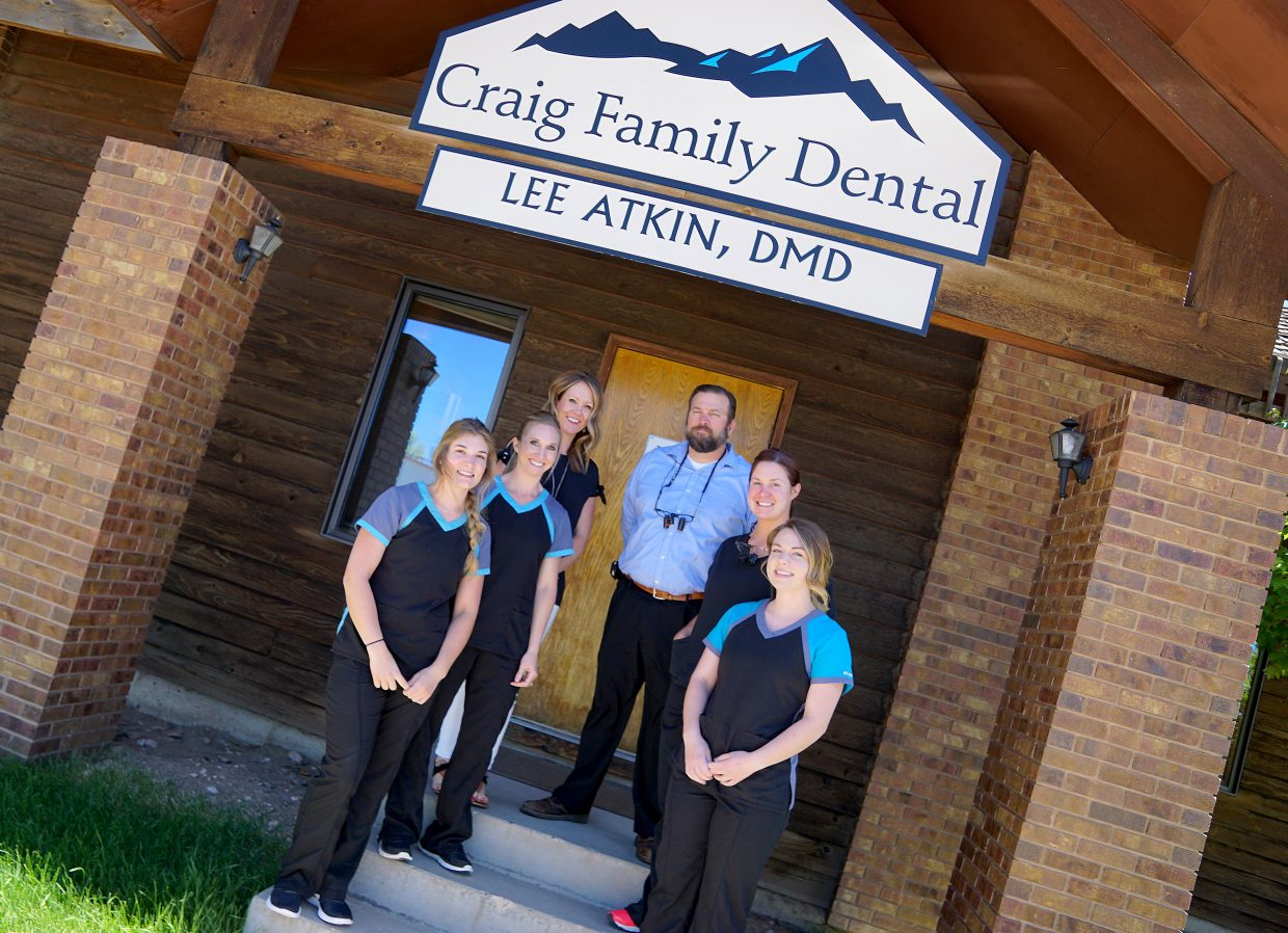 Best Of Moffat County 2018 Dentist Sinks His Teeth Into Work