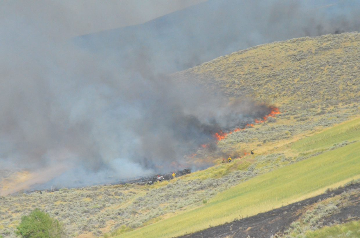 UPDATED: Divide Fire sparks back up, adds thousands more acres of ...