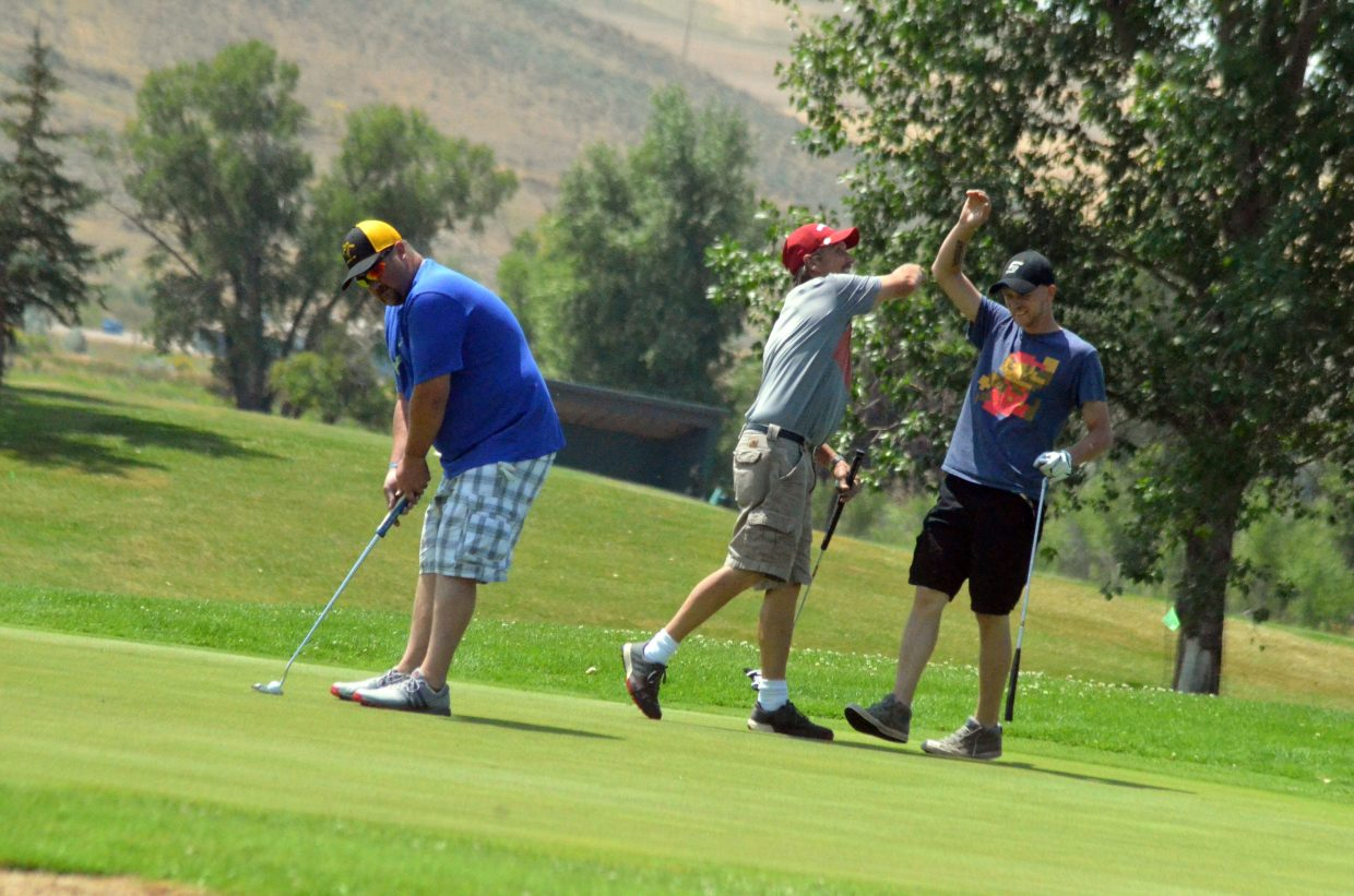 Go with the flow for fun at Bear River Young Life golf tourney
