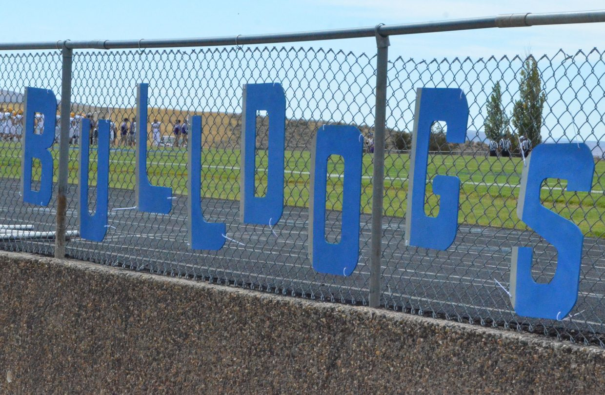 Moffat County High School Bulldog pride is on display at Homecoming game Saturday.