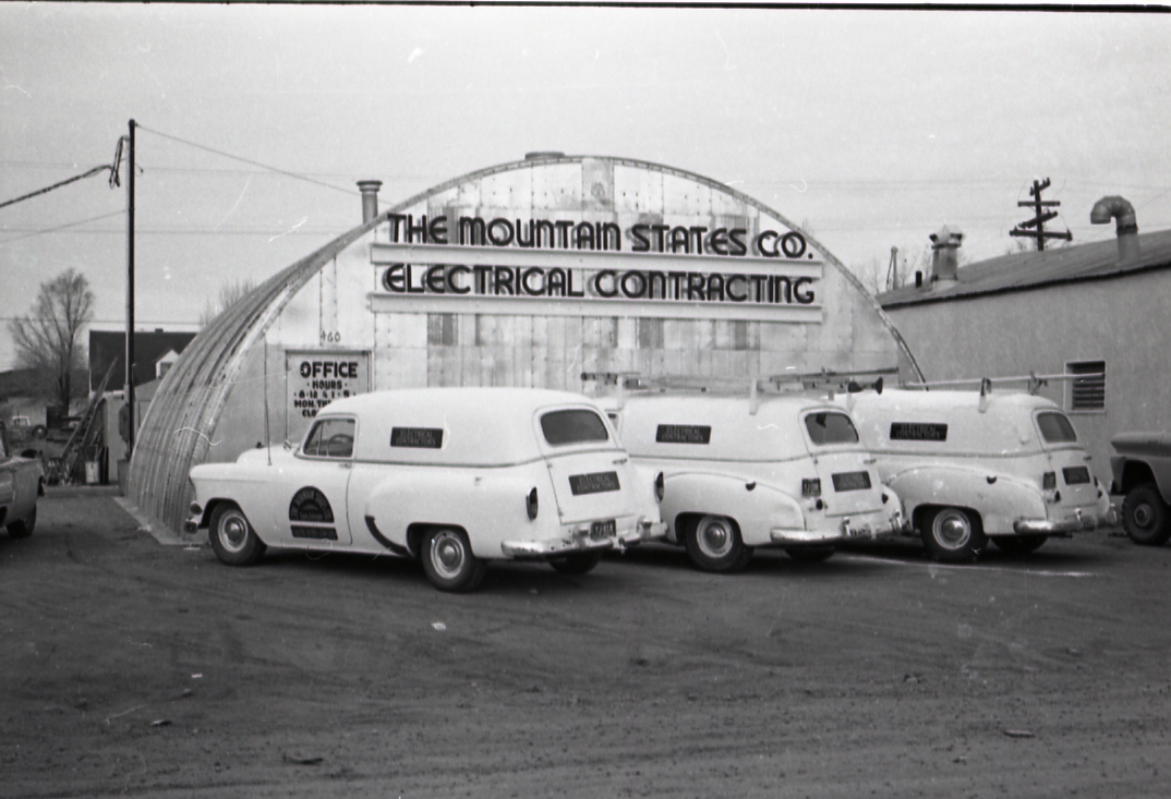 The Mountain States Co. Electrical Contracting building as it appeared in the 1963 Craig City Directory.