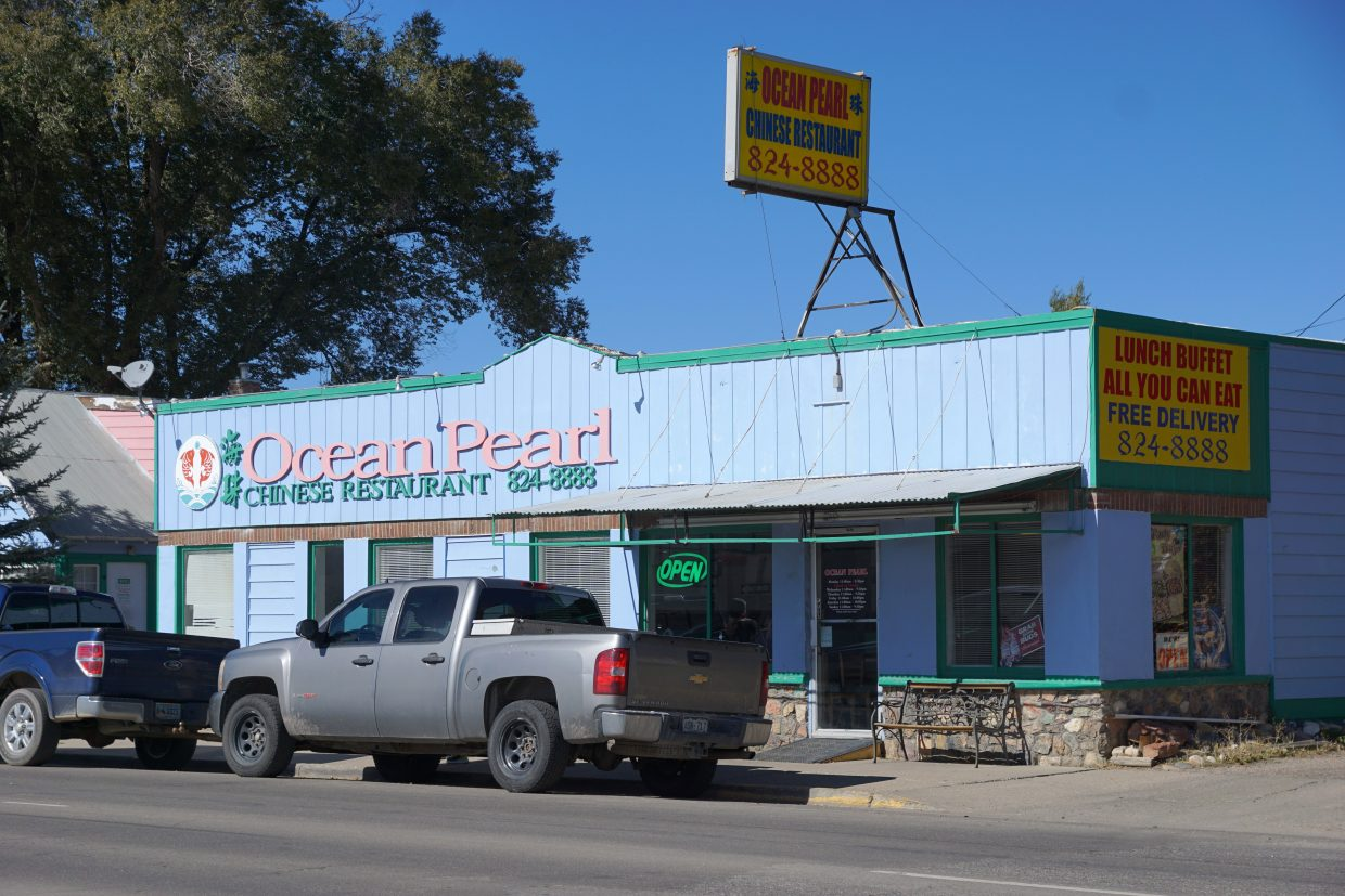 The Ocean Pearl Chinese restaurant is located in a building that used to house the Truck Stop Cafe.
