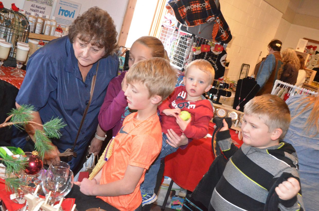 Something for all ages could be foung at Saturday's Holiday Craft Show at Center of Craig.