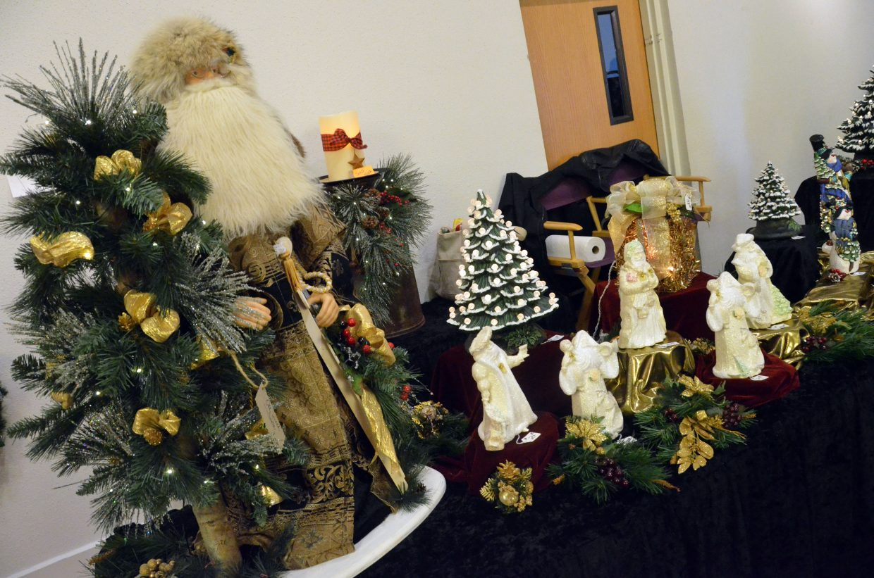 Christmas decorations of all sorts are for sale Saturday's Holiday Craft Show at Center of Craig.