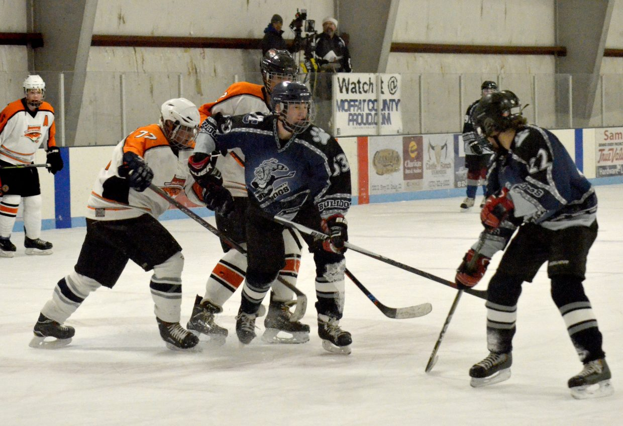 Senior Night For Moffat County Hockey Wrestlers Head To State