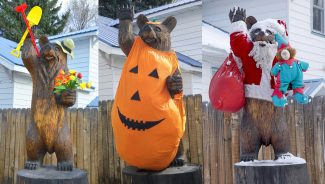 Moffat County Locals: Beary 'Happy' to meet you, says Sixth Street Bear