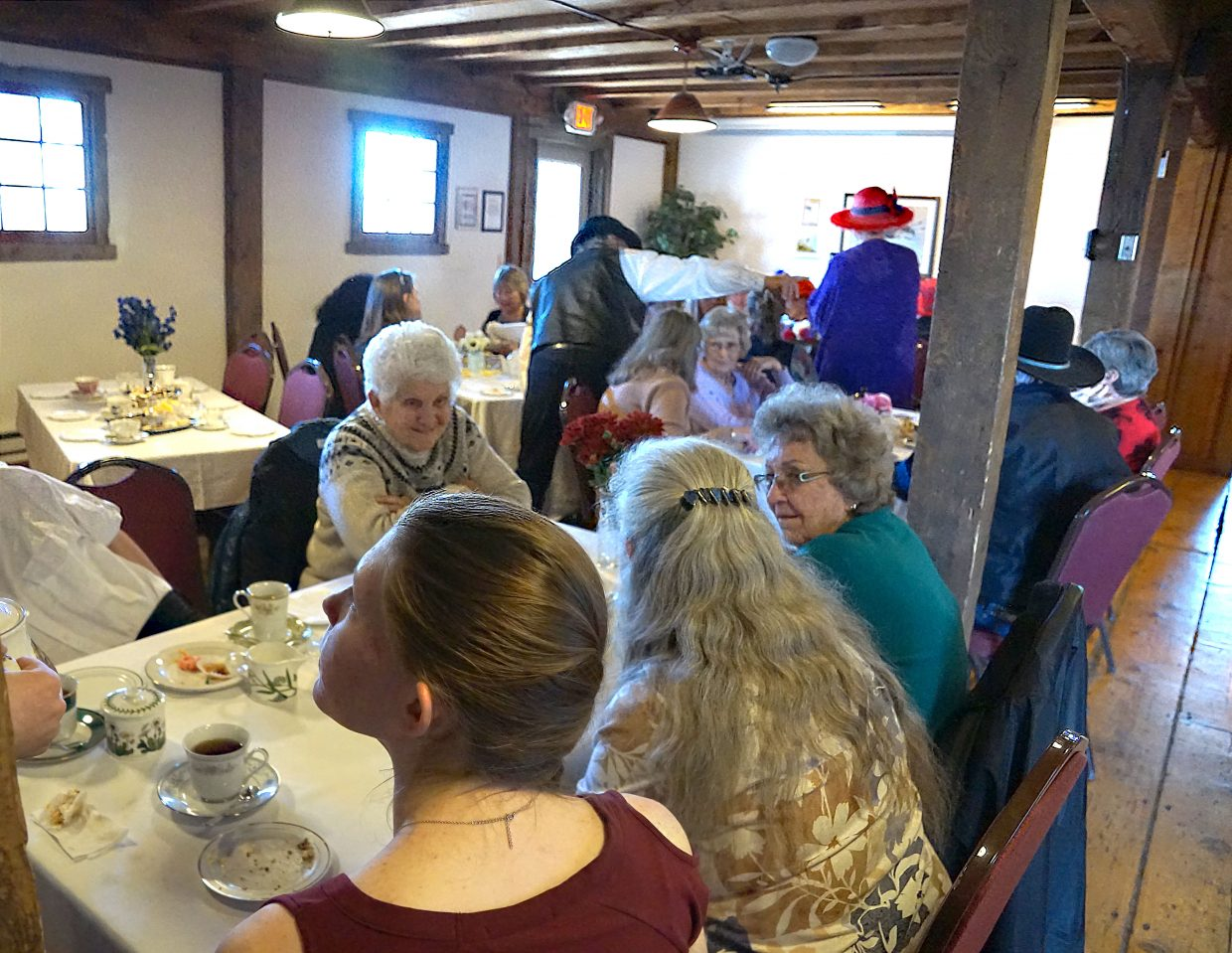 The third annual Winter Tea fundraiser for the Luttrell Barn Cultural Center was held at the barn Sunday, Feb. 24.