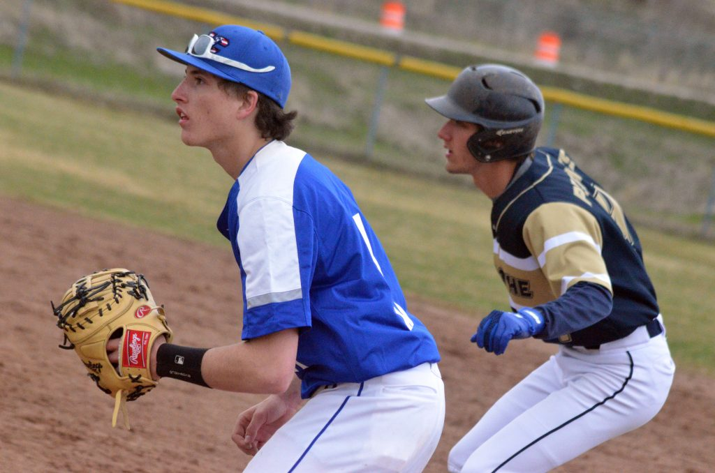 Moffat County baseball outlasts Olathe for Bulldogs' 1st win