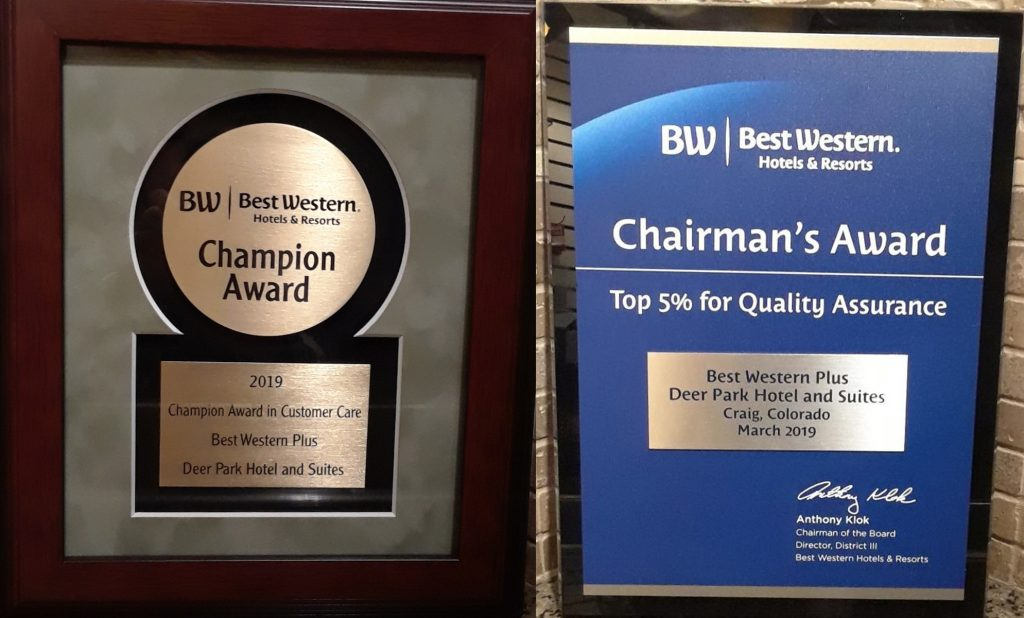 Business Buzz: Best Western wins big