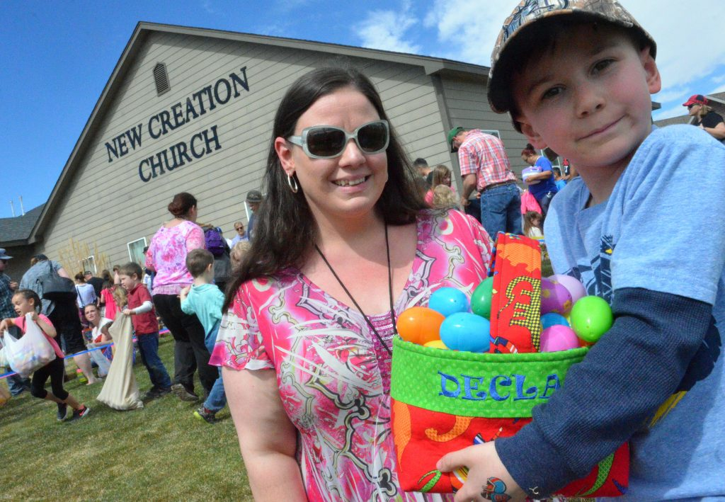 New Creation Church offers eggs-actly what Craig families want for Easter
