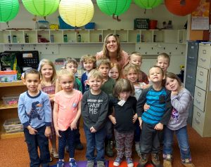 Creating learners in chaotic classroom works for Craig preschool teacher Angela Reed