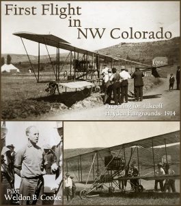 From the Museum Archives: first flight in Northwest Colorado