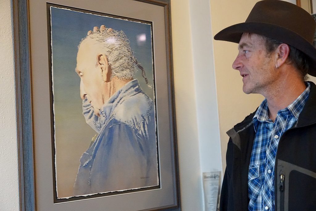 Capturing the West: Moffat County artist Israel Holloway exceeds expectations with prominent showcases