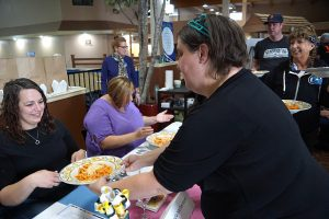 Too many cooks in the kitchen means too much fun at Horizons' Pick a Dish