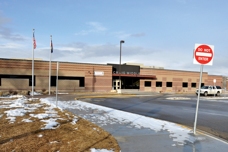 Craig Middle School students OK after health scare Friday