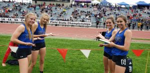 Moffat County girls speed to state title in 4×200 relay