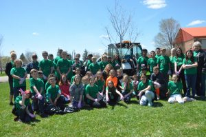 Craig Parks and Rec brings arboreal ardor to elementary schools with tree-planting project