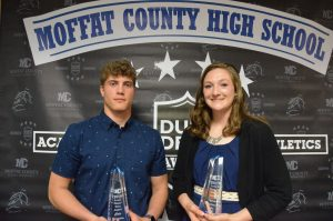 Moffat County sports night hands out big honors with 'Dude' Dent trophy, Outstanding Female Athlete