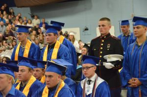 Moffat County Class of 2019 Graduation: Bulldogs ready to serve in armed forces